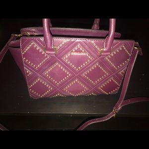 Michael Kors Magenta studded handbag